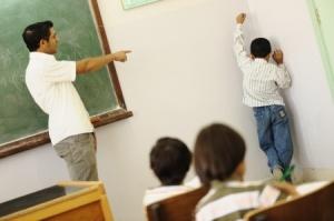 castigo en aula