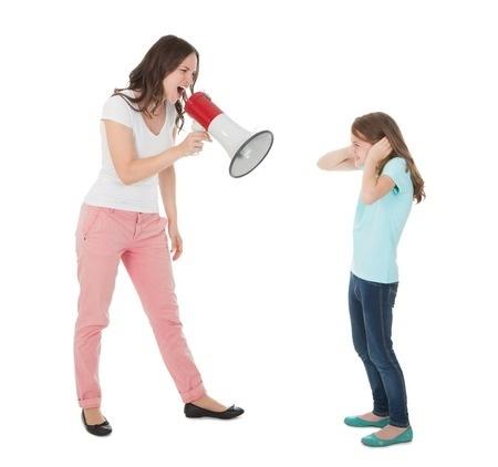Soy una gritona… ¿qué puedo hacer?