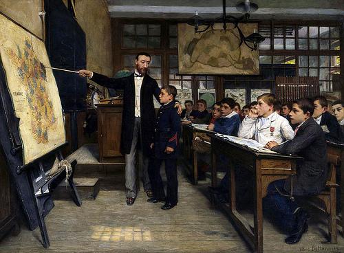 Albert Bettanier, La mancha negra (1887)