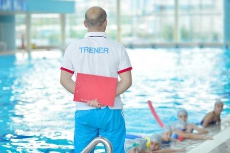 entrenador natación