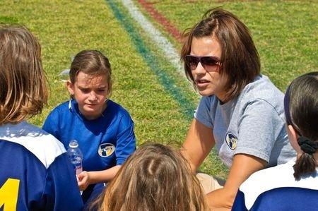 Entrenadora de futbol